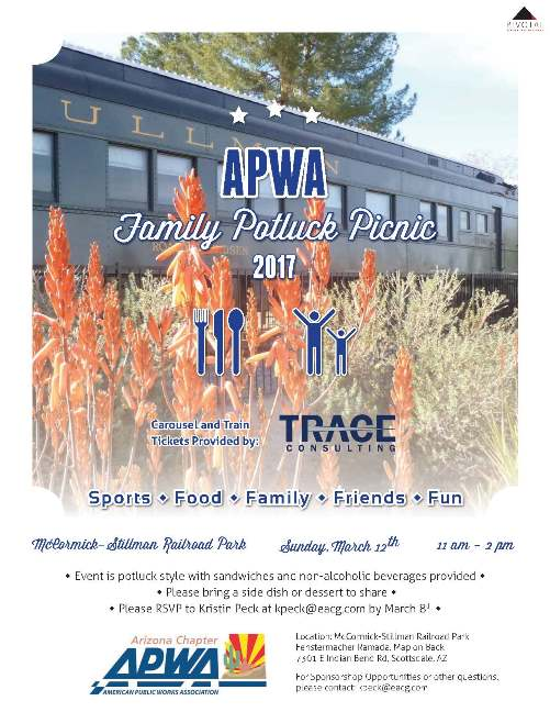 APWA Family Potluck Picnic 2017 @ McCormick-Stillman Railroad Park | Scottsdale | Arizona | United States