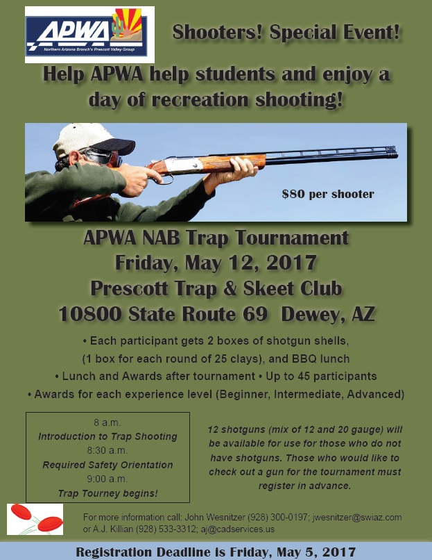 APWA NAB Trap Tournament @ Prescott Trap and Skeet Club | Arizona | United States