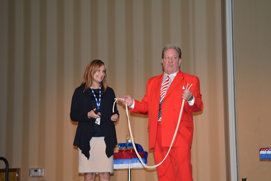 Magic Show at the 2014 APWA Statewide Conference